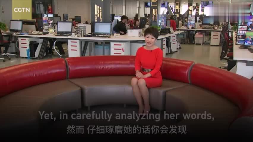 视频-史上首次!CGTN女主播与FOX女主播隔空