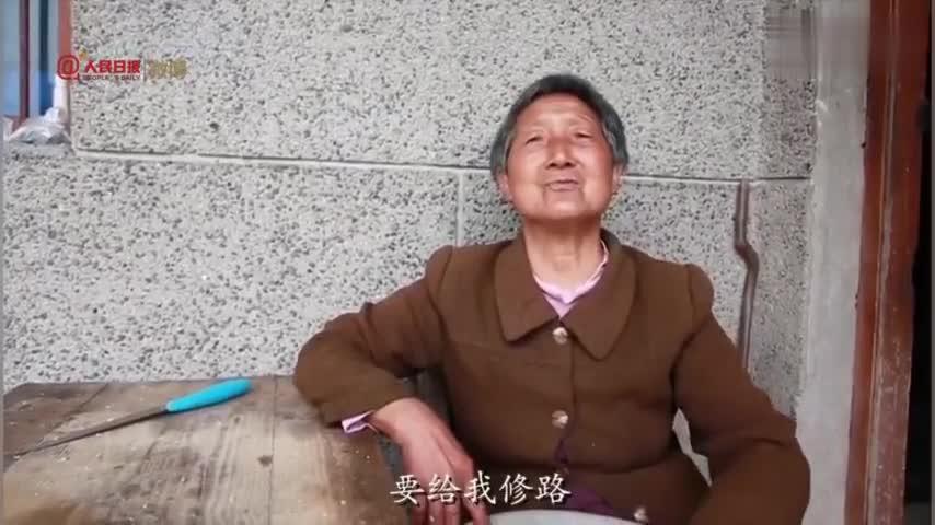 视频-这就是爱!73岁老人为老伴儿修通爱情路