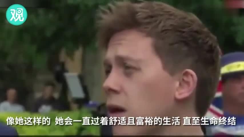 视频-评论员受访称不同情特蕾莎梅 被主持人打断: