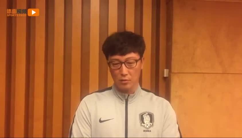视频-韩国U18主帅就韩国球员赢中国后踩奖杯 致