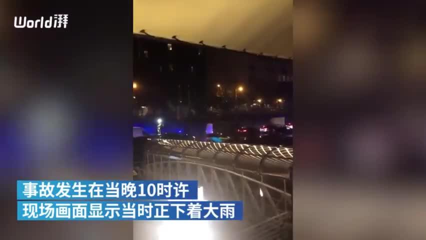 视频:布达佩斯游船倾覆7死19失联:多为韩国籍