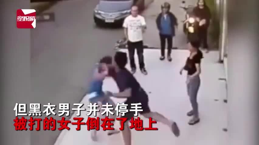 男子求復合被拒當街暴打前女友致鼻骨骨折