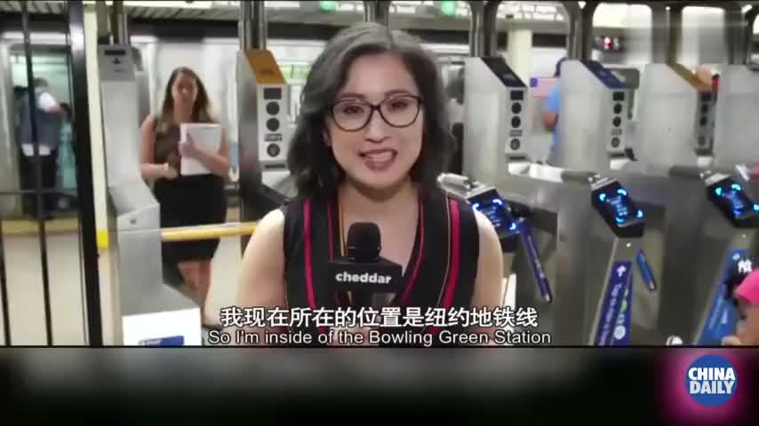 视频:纽约人民喜大普奔!终于可以刷手机乘地铁了