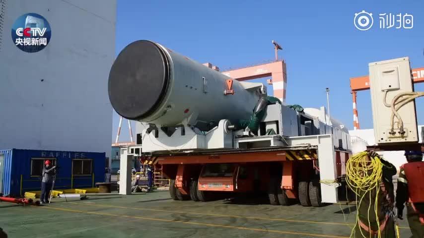 中国航天完成首次海上发射纪实