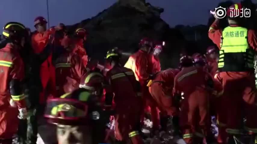 视频-四川长宁葡萄村被埋男孩身亡 探测仪继续搜救