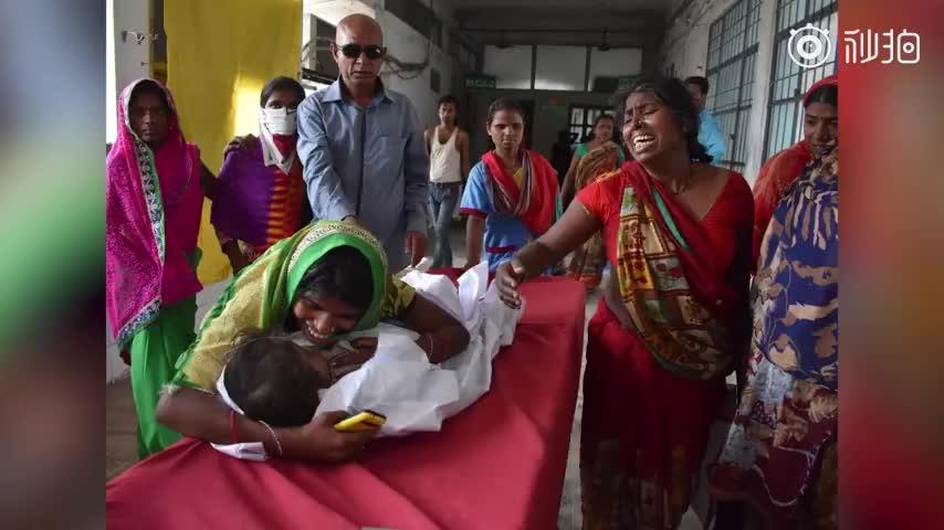视频:疑因空腹吃荔枝 印度103名儿童身亡