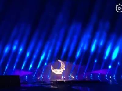 净月潭音乐喷泉