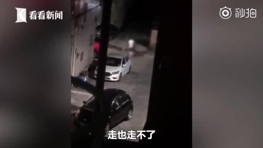 女子被认为挑拨离间凌晨遭两男性友人拖入巷子暴打