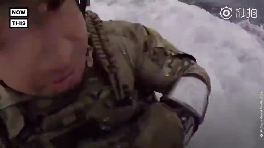 视频:美国海岸警卫队在太平洋上拦下一艘潜艇 查获