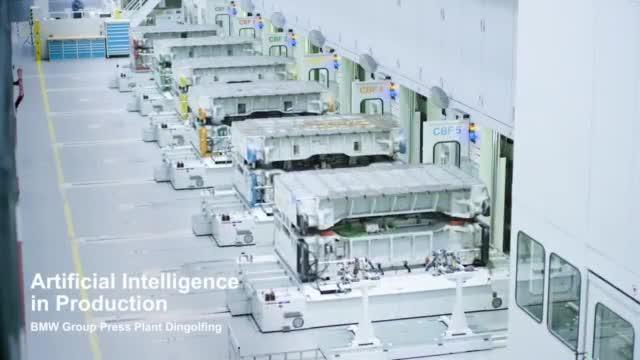 宝马一直在系列生产中使用各种A.I.应用程序