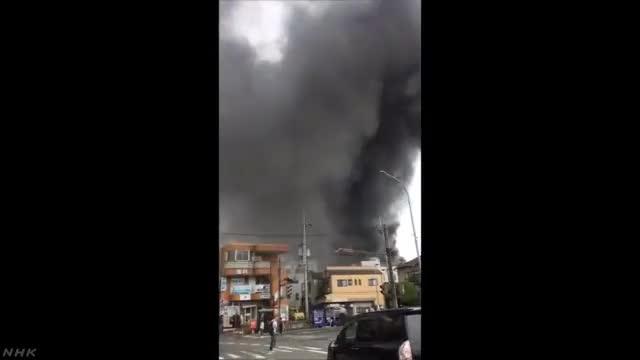 视频:动画制作公司京阿尼发生火灾