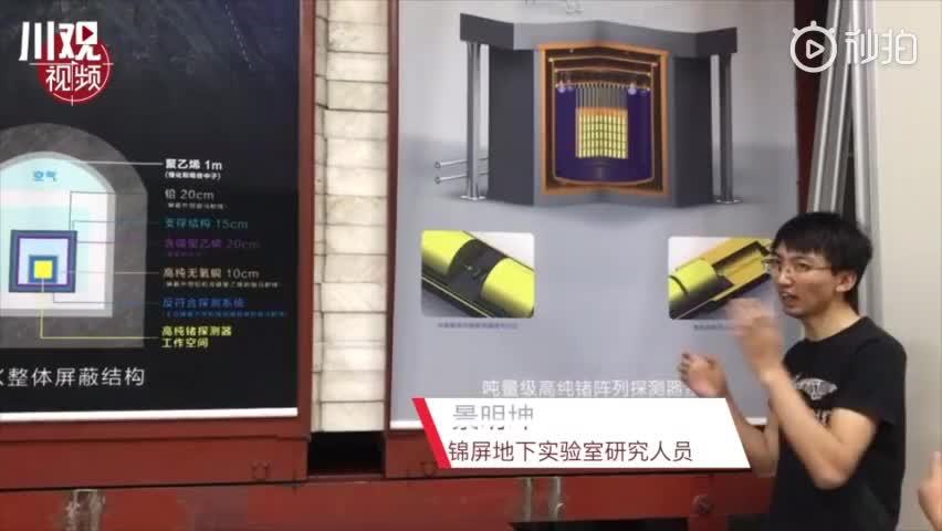 视频-世界最深地下实验室就在四川 专门研究暗物质