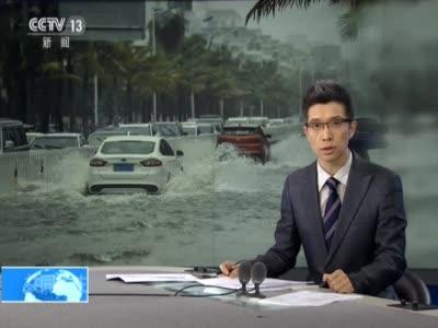 《共同关注》四川乐山:强降雨致河水上涨  多处交通中断