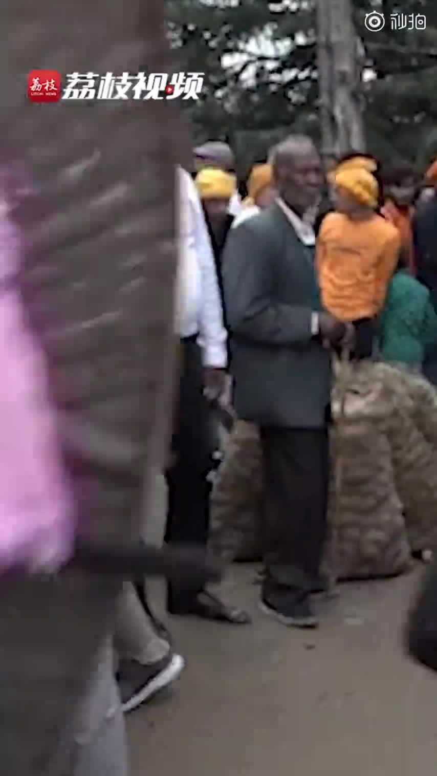 视频-印度投石节超百人受伤:被打得头破血流