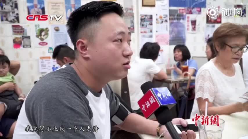 视频-香港撑警一人茶餐厅座无虚席:网友建议改叫1
