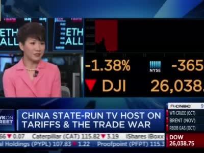 见招拆招!央视主播刘欣在美主流媒体为中国发声