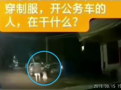广东一男子殴打前妻后将四岁女儿抛入警车后斗,被行拘15日