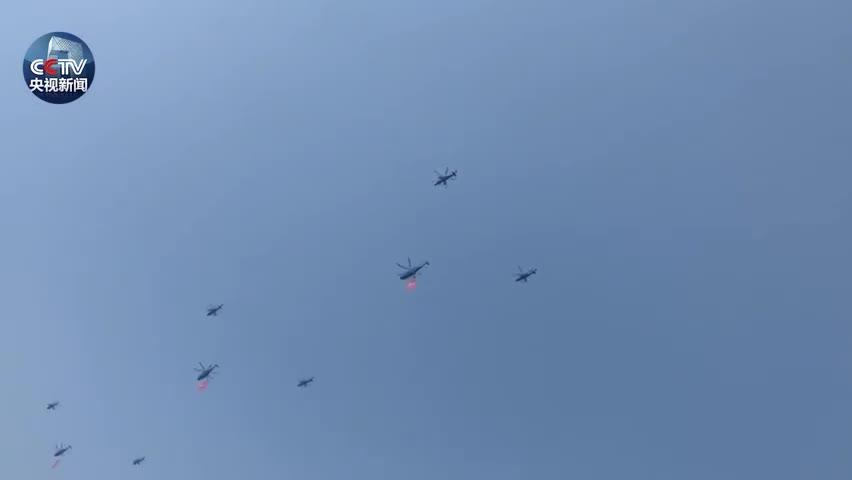 视频-今天 北京天空被飞机刷屏