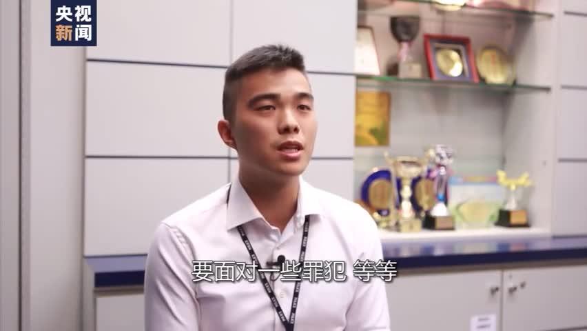 视频|香港足球员警官:不后悔选择警察做终身职业