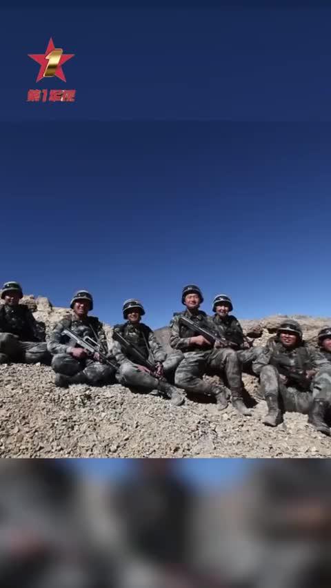 视频-坚守在海拔5100米高原的边防战士 儿子会