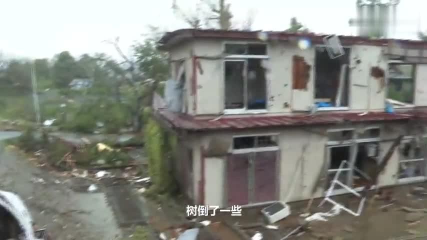视频-最强台风海贝思逼近日本 已造成一人死亡多人