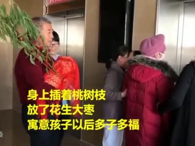 枣庄67岁高龄产妇今天出院 奶水好还请了月嫂