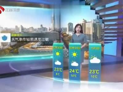 江苏将启动今秋首个重污染天气黄色预警