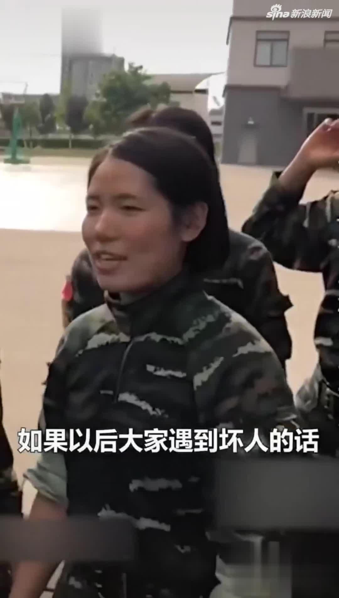 视频-特战女兵遇到坏人硬核三连招 实力超乎想象