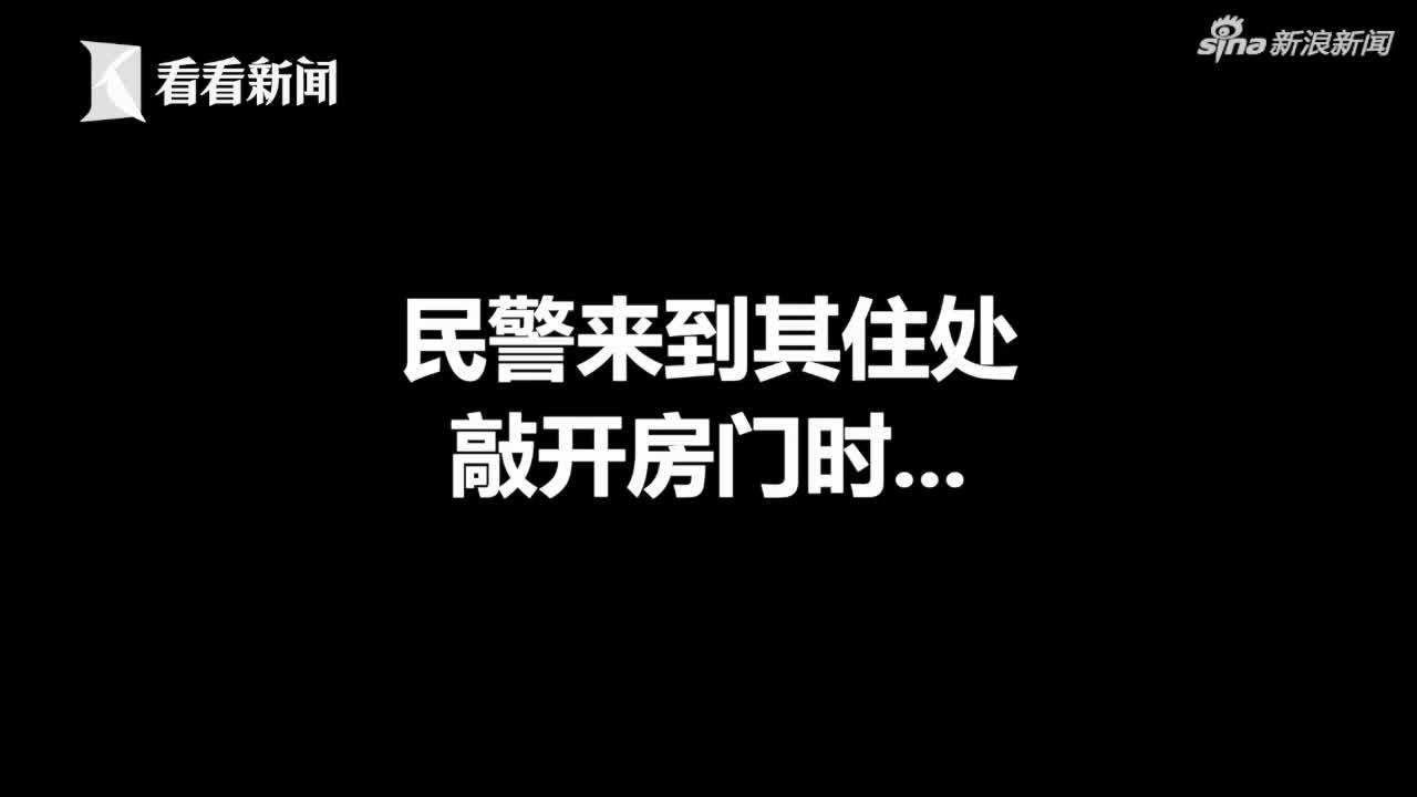 """视频-大汉男扮女装盗窃 现场演示如何10秒变""""女"""