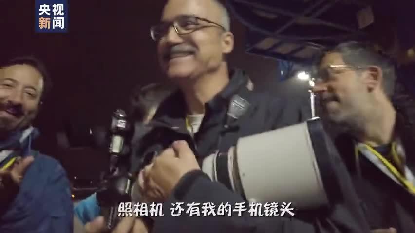 视频-康辉@大国外交最前线:抵达雅典下飞机后第一