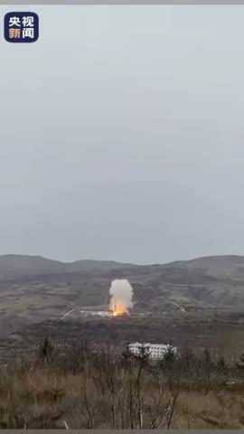 视频:一箭五星!我国成功发射宁夏一号卫星