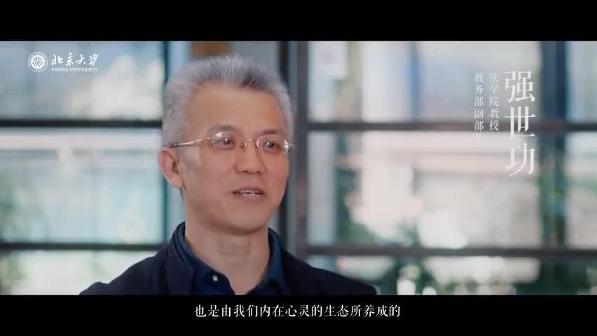 视频-北大教授谈大学的意义:毕业后大学活在我们每