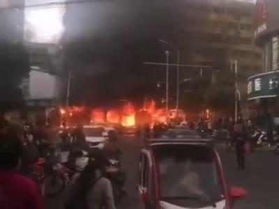 安徽蚌埠大火