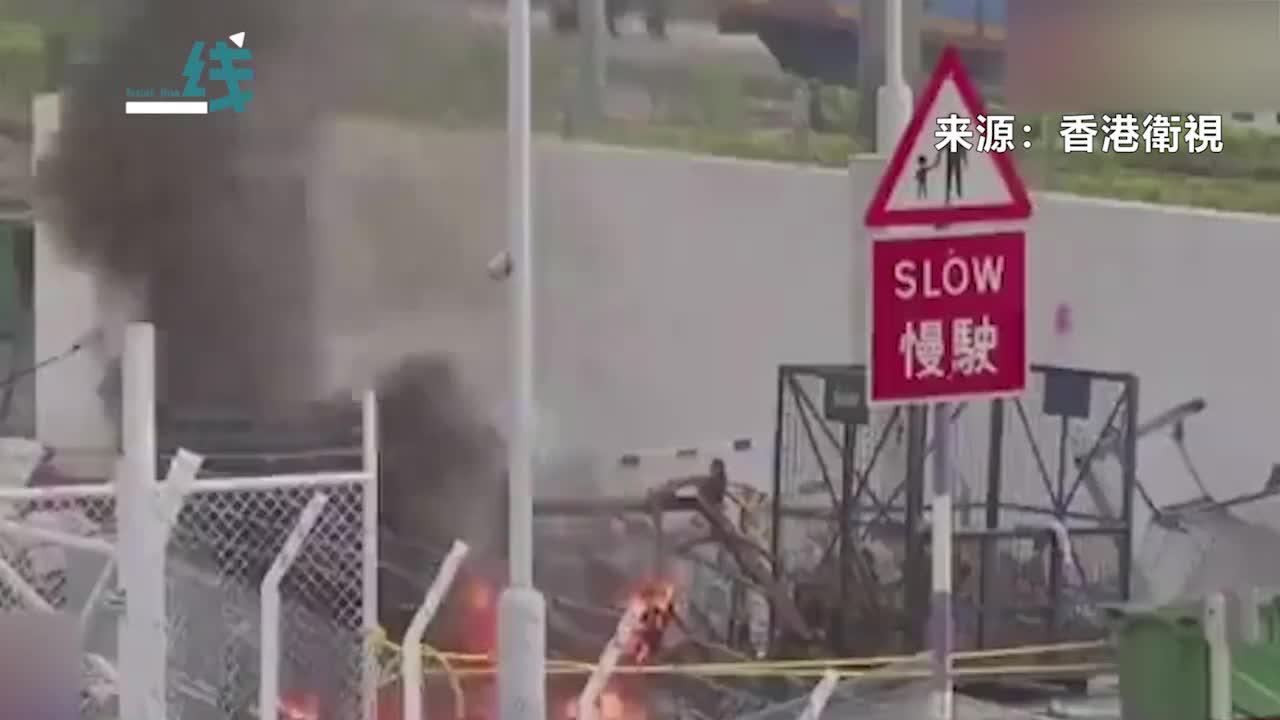 视频-香港暴力逐步升级 何君尧:如果18万公务员