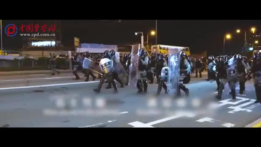 视频-这是一首内地同行支持香港警队的歌曲:港警,