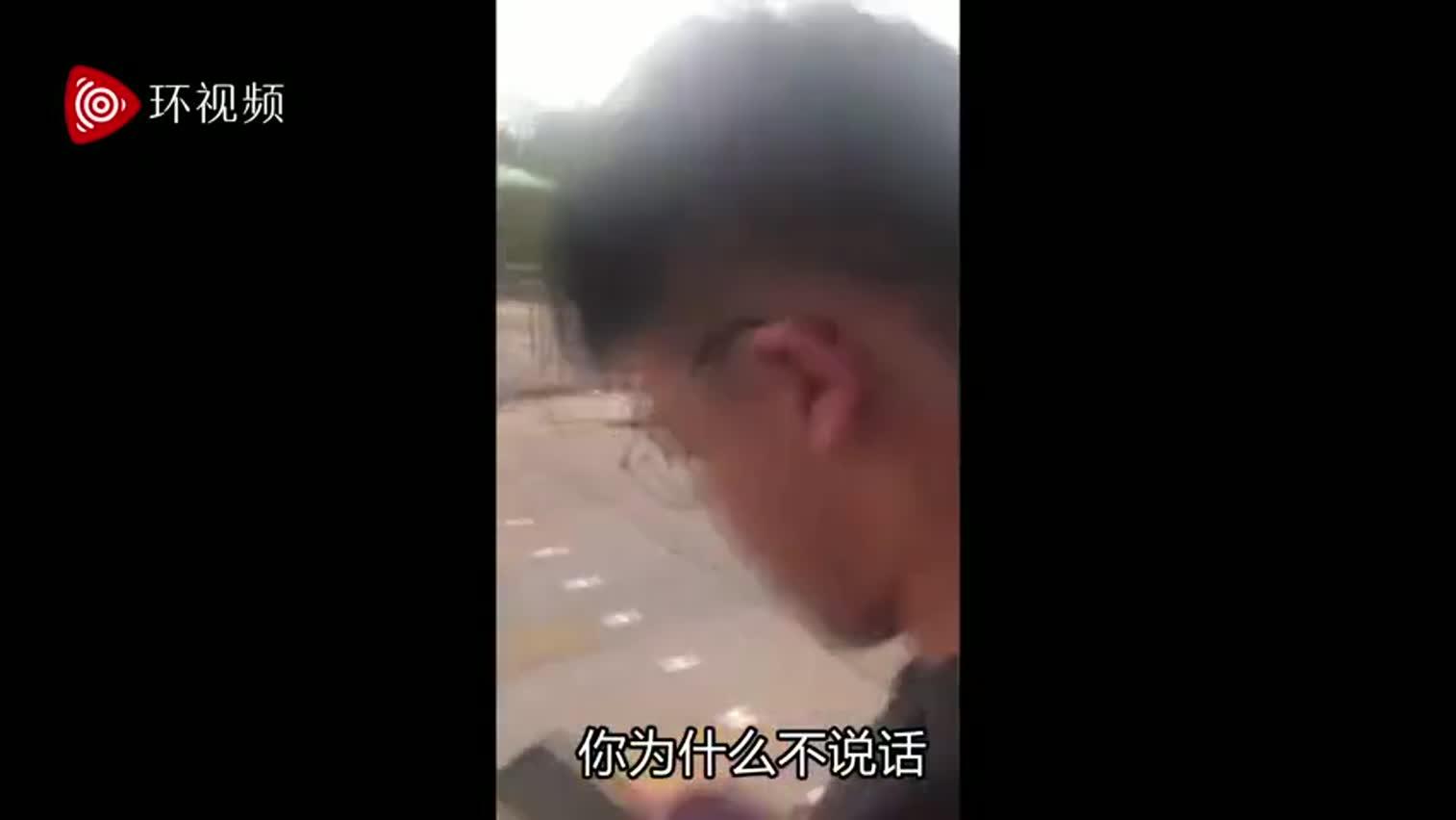 视频-香港暴徒街头被老外痛骂:你享受杀人放火吗?