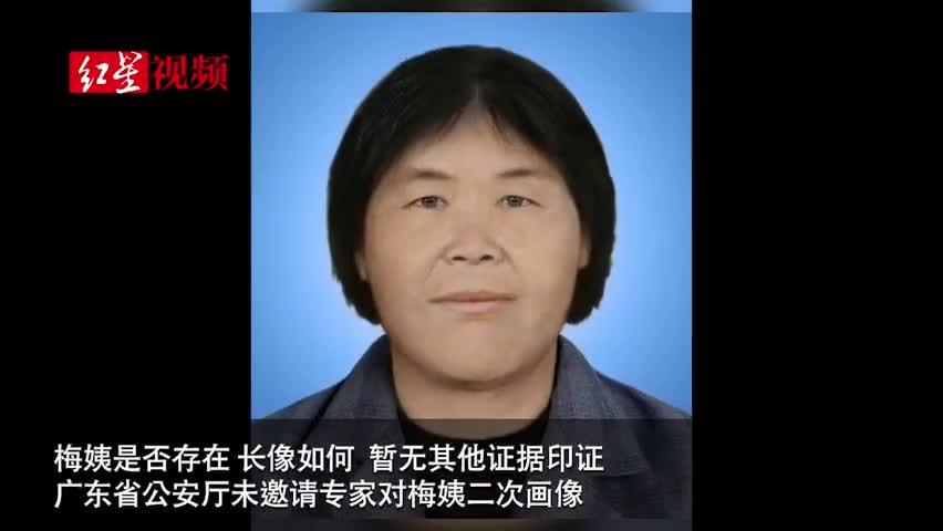 """视频 """"梅姨""""的第二张画像非官方公布信息 警方:"""