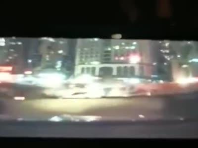 #厦门地铁#行车记录仪拍下的厦门地铁塌陷的一瞬间 好吓人