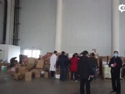 最新!总台央广记者探访武汉市红十字会
