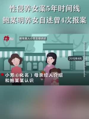 鲍毓明案当事女孩疑有两张身份证 户籍地警方:上级部门在处理